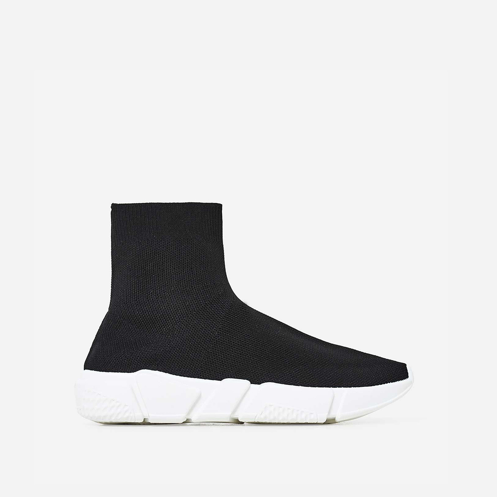 Mercury Ankle Trainer In Black Knit Image 1