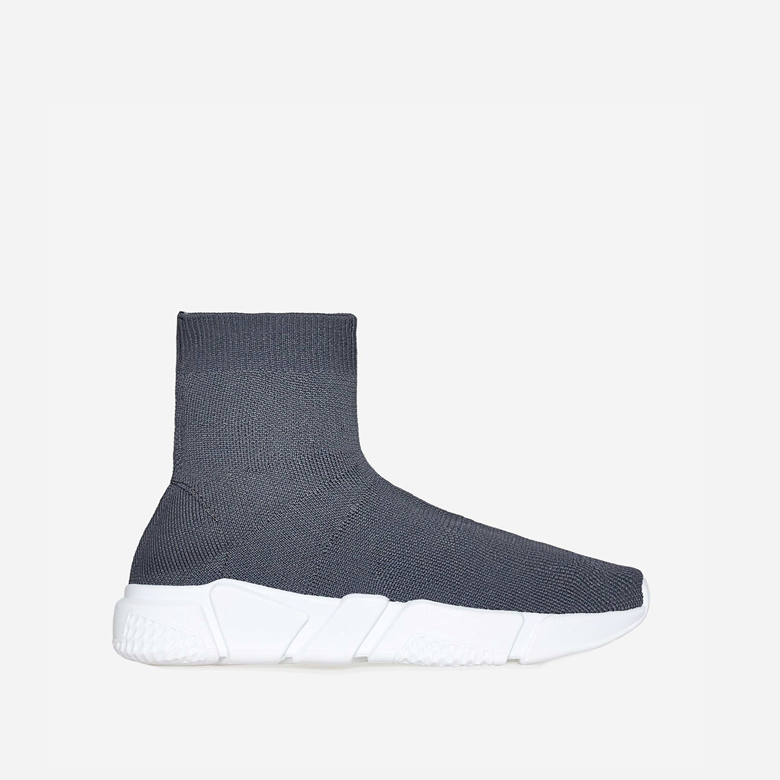 Mercury Ankle Trainer In Grey Knit