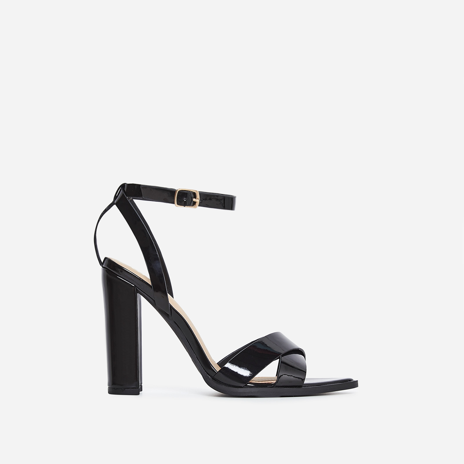 Obsessed Black Heel In Black Patent
