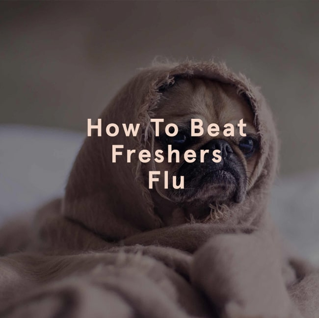 how to beat freshers' flu